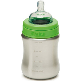 Klean Kanteen Kid Kanteen Baby Bottle Medium Flow 267ml Kinder brushed stainless